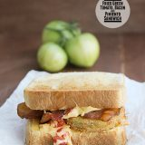 Fried Green Tomato, Bacon and Pimiento Sandwich