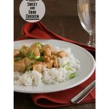 Baked Sweet and Sour Chicken | www.tasteandtellblog.com