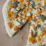 Butternut Squash and Sage Pizza | www.tasteandtellblog.com