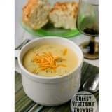 Cheesy Vegetable Chowder | www.tasteandtellblog.com #recipe #soup