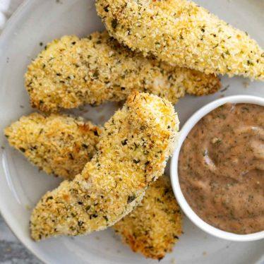 Crispy Ranch Chicken Strips Recipe