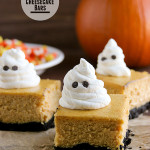 Pumpkin Cheesecake Bars | www.tasteandtellblog.com