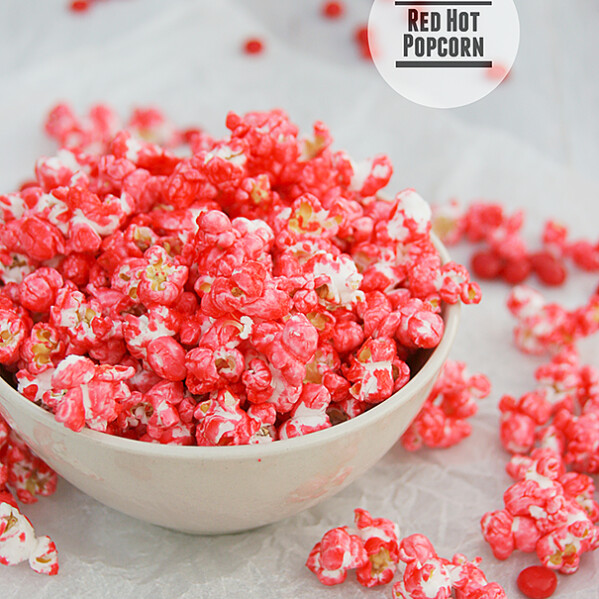 Red Hot Popcorn | www.tasteandtellblog.com