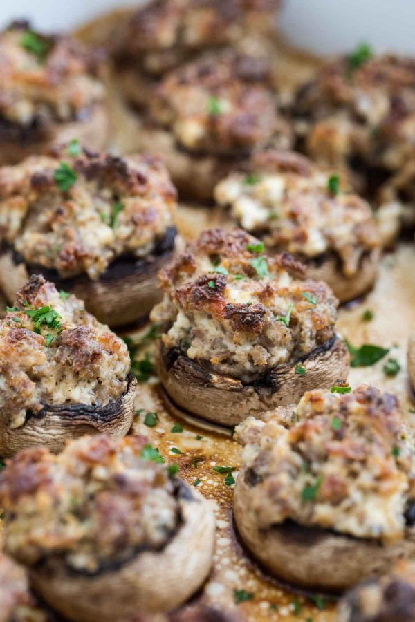 How to make Sausage Stuffed Mushrooms