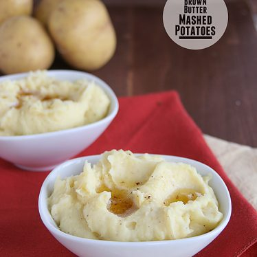 Brown Butter Mashed Potatoes | Taste and Tell