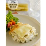 Cheesy Chicken and Green Chile Lasagna