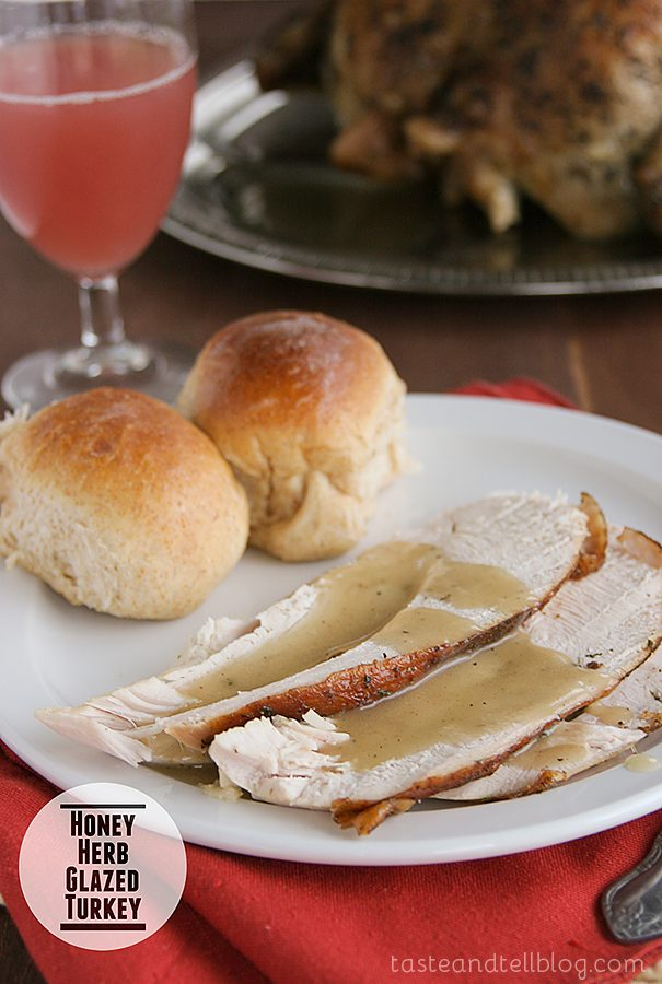 Taste and Tell Thursdays – Honey Herb Glazed Turkey