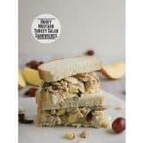 Honey Mustard Turkey Salad Sandwiches   www.tasteandtellblog.com