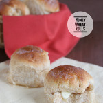 Honey Wheat Rolls | Taste and Tell