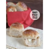 Honey Wheat Rolls {Thanksgiving Week}