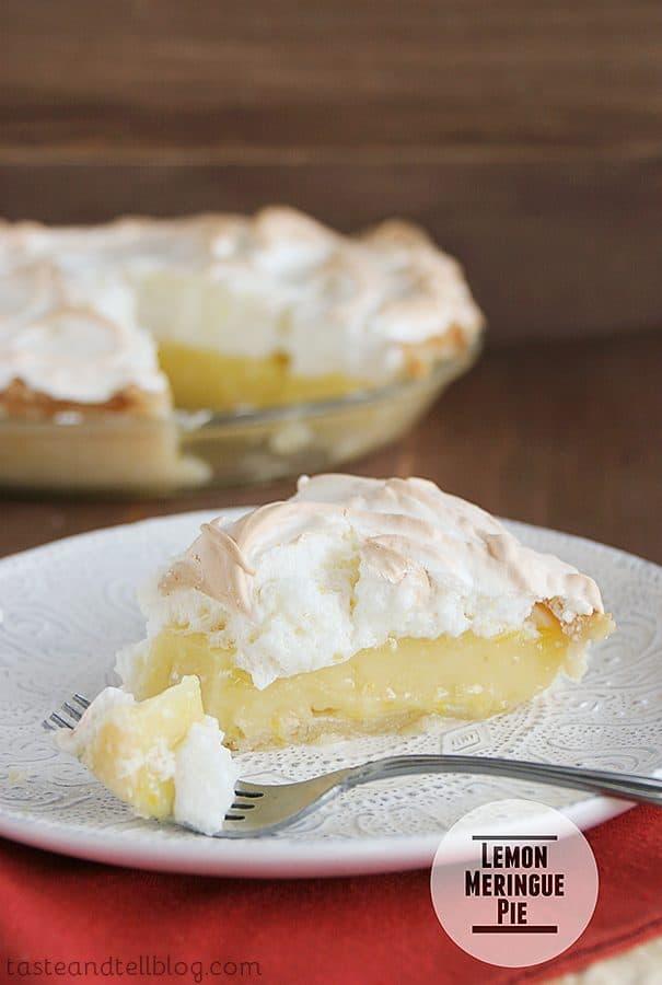 Lemon Meringue Pie {Thanksgiving Week}