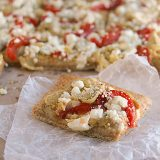 Mediterranean Pizza | www.tasteandtellblog.com #recipe #pizza