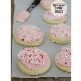 Peppermint Butter Cookies   www.tasteandtellblog.com #cookie #Christmas