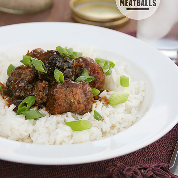 Slow Cooker Asian Meatballs | www.tasteandtellblog.com