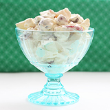 Snickers Salad | www.tasteandtellblog.com