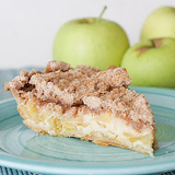 Sour Cream Apple Pie | www.tasteandtellblog.com