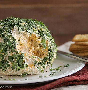 Southwestern Cheeseball | www.tasteandtellblog.com