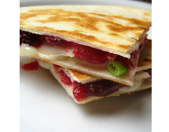 Turkey Cranberry Quesadilla from www.realmomkitchen.com