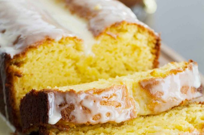 Enjoy eggnog any time of day with this Eggnog Quick Bread with Eggnog Glaze. It would be perfect for breakfast, snack time or dessert.