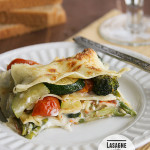 Lasagne with Fresh Vegetables