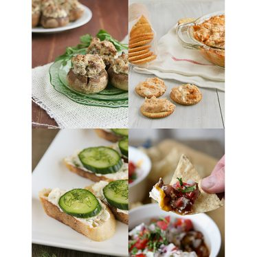 New Year's Eve Appetizers | www.tasteandtellblog.com