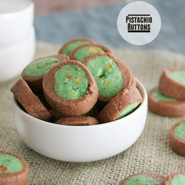Pistachio Buttons on Taste and Tell