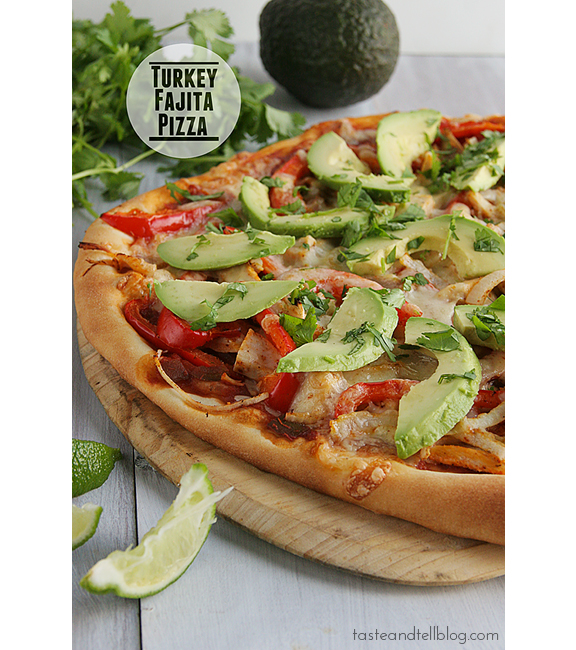 Turkey Fajita Pizza