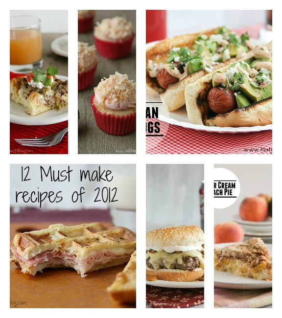 12 Must Make Recipes of 2012