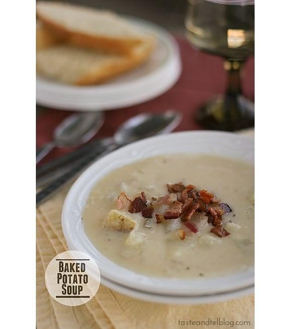 Baked Potato Soup | www.tasteandtellblog.com
