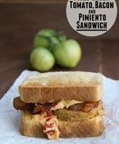 Fried Green Tomato, Bacon and Pimiento Sandwich | www.tasteandtellblog.com