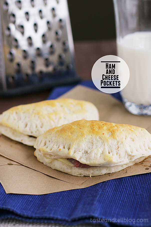 Ham and Cheese Pockets | www.tasteandtellblog.com