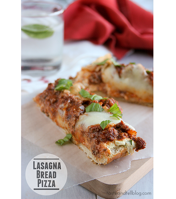 Lasagna Bread Pizza