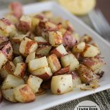 Lemon Herb Roasted Potatoes | Taste and Tell