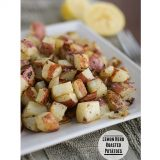 Lemon Herb Roasted Potatoes | www.tasteandtellblog.com #recipe #sidedish #potatoes