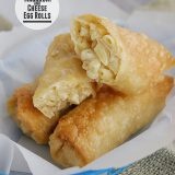 Macaroni and Cheese Egg Rolls from www.tasteandtellblog.com