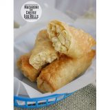 Macaroni and Cheese Eggrolls | www.tasteandtellblog.com #recipe #appetizer