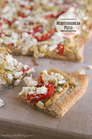 Mediterranean Pizza | www.tasteandtellblog.com