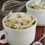 Ranch Ham and Cheese Pasta | www.tasteandtellblog.com