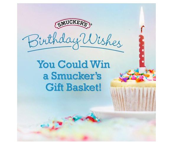 Smucker's Birthday Giveaway | www.tasteandtellblog.com