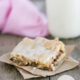 Snickerdoodle Bars from www.tasteandtellblog.com