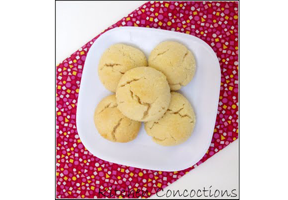 Lemonade Cookies from Kitchen Concoctions