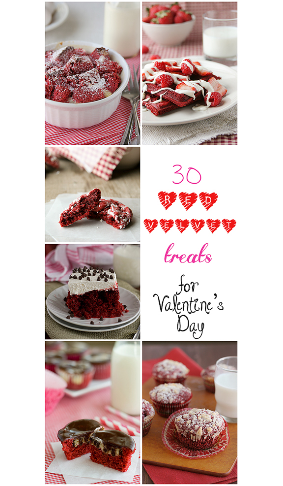 30 Red Velvet Treats for Valentine's Day