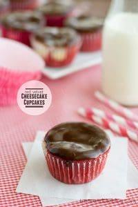Red Velvet Cheesecake Cupcakes from www.tasteandtellblog.com