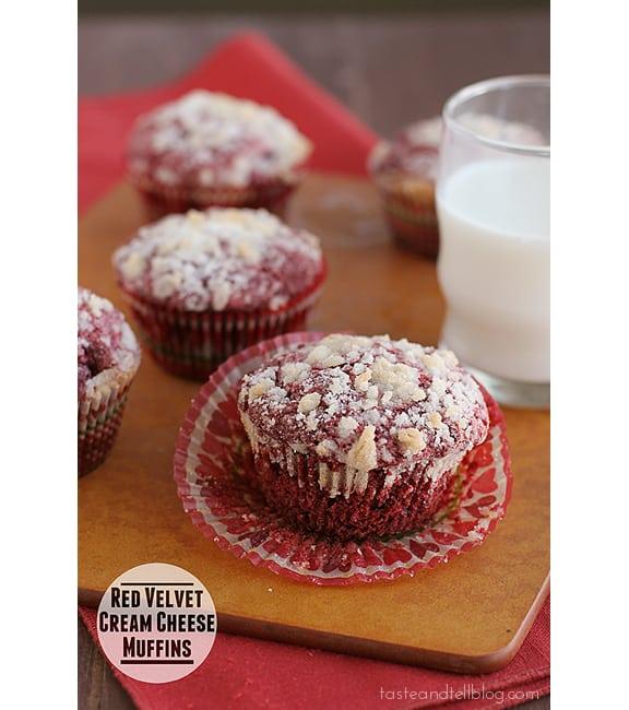 how to make red velvet muffins