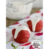 Red Velvet Rolls with Cream Cheese Glaze | www.tasteandtellblog.com #recipe #redvelvet
