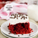 Red Velvet Tres Leches Cake {Red Velvet Week}