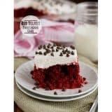 Red Velvet Tres Leches Cake | www.tasteandtellblog.com #recipe #cake #redvelvet
