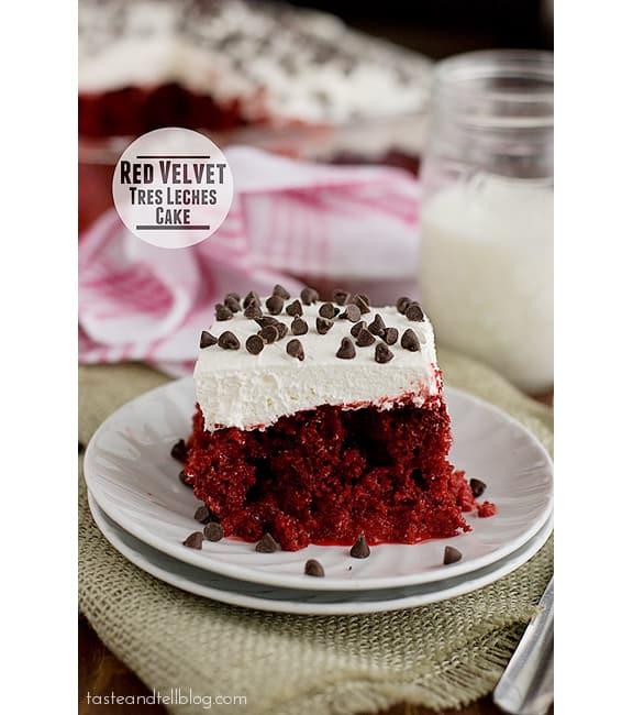 Red Velvet Tres Leches Cake