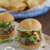 Seven Layer Sliders | www.tasteandtellblog.com