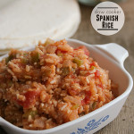 Slow Cooker Spanish Rice | www.tasteandtellblog.com #recipe #slowcooker #crockpot #sidedish